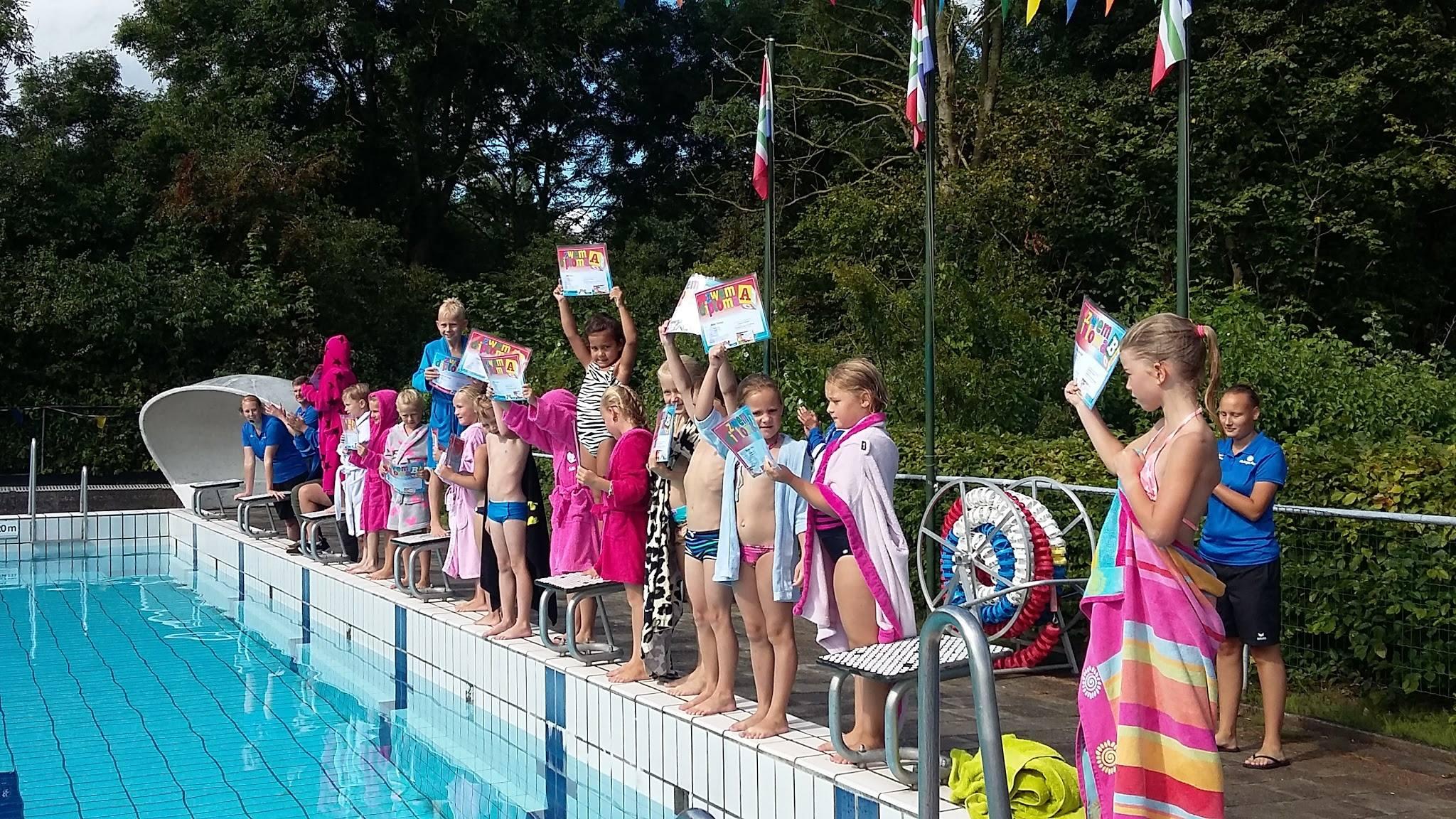 2019  6 mei starten de zwemlessen